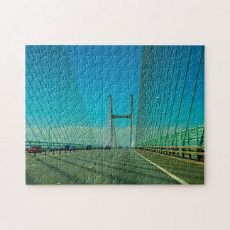 Severn Bridge Wales Puzzle