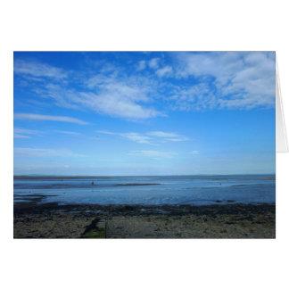 Severn Estuary at Penarth Greeting Cards