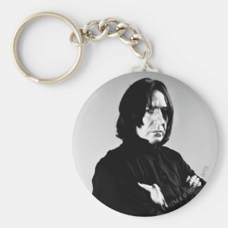 Severus Snape Arms Crossed Basic Round Button Key Ring