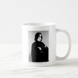 Severus Snape Arms Crossed Basic White Mug