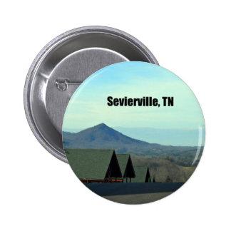 Sevierville, Tennessee 6 Cm Round Badge