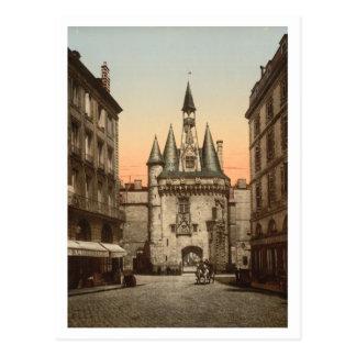 Sevigne Gate, Bordeaux, France Postcard