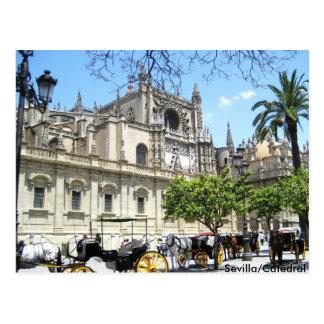 Sevilla/Catedral Postcard