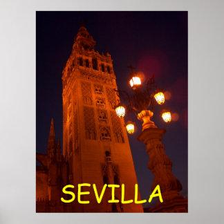 Sevilla Catedral-Spain Poster
