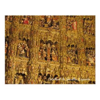 Sevilla Cathedral (Cathedral of Sevilla) ~Spain Postcard
