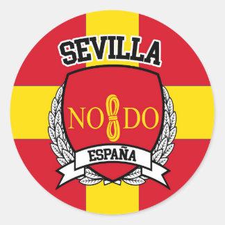 Sevilla Classic Round Sticker