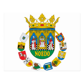 Sevilla (Spain) Coat of Arms2 Postcard
