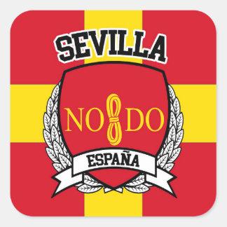 Sevilla Square Sticker
