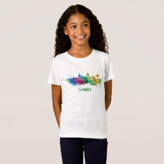 Seville skyline in watercolor T-Shirt