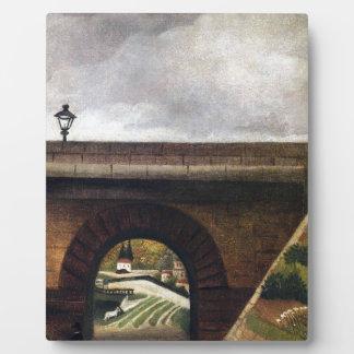Sevres Bridge by Henri Rousseau Photo Plaque
