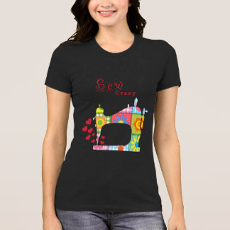 Sew Crazy Sewing Machine by Mini Brothers T-Shirt