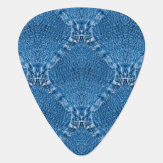 Sew Denim Groverallman Guitar Pick