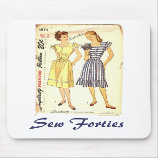 Sew Forties Mousepad