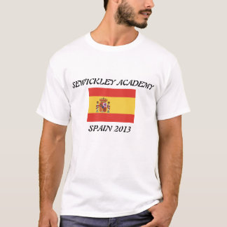 Sewickley Academy Spain 2013 T-Shirt