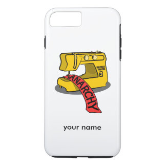 Sewing anarchy zazzle.png iPhone 7 plus case