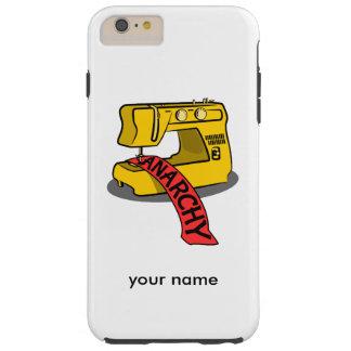 Sewing anarchy zazzle.png tough iPhone 6 plus case