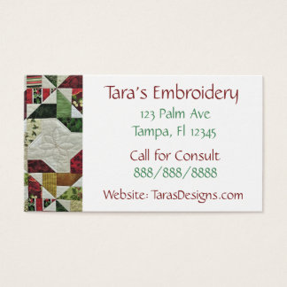 Sewing Business Business Cards