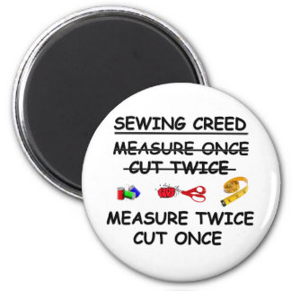 SEWING CREED Magnet