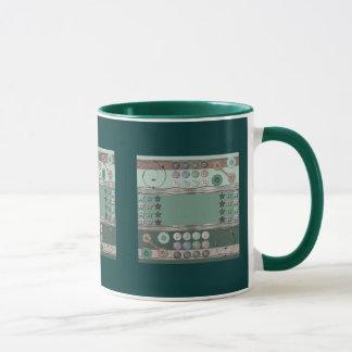 Sewing Enthusiast Green Mug
