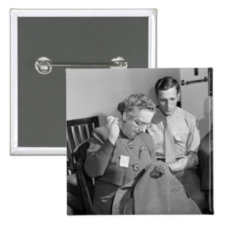 Sewing for the Cause, 1943 Pin