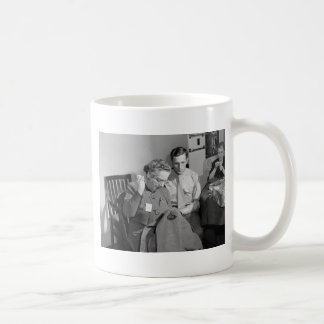 Sewing for the Cause, 1943 Coffee Mug