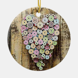 SEWING IS MY LOVE-ORNAMENT CERAMIC ORNAMENT