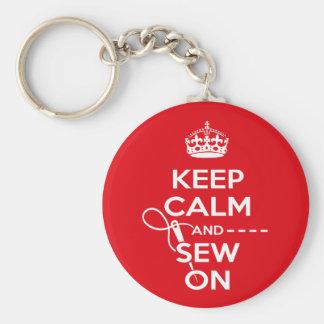 Sewing Key Ring