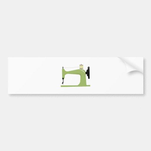 Sewing Machine Bumper Stickers
