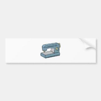 Sewing Machine Bumper Sticker