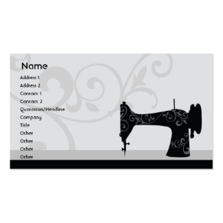 Sewing Machine - Business Pack Of Standard Business Cards