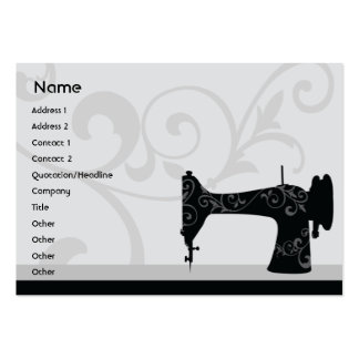 Sewing Machine - Chubby Business Cards