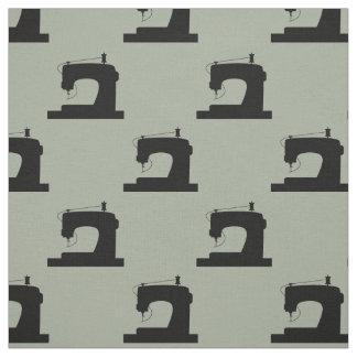 Sewing Machine Crafts Pattern Fabric