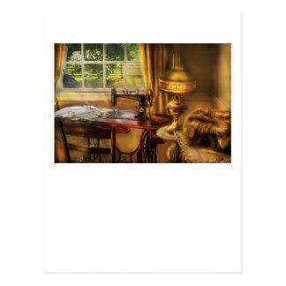 Sewing Machine  - Domestic Sewing Machine Postcard