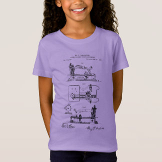 Sewing Machine feeding mechanism - Mary Carpenter T-Shirt