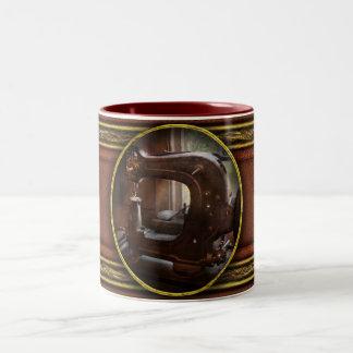 Sewing Machine - Leather - Saddle Sewer Coffee Mug