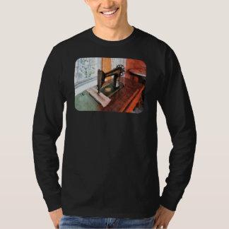 Sewing Machine Near Lace Curtain T-Shirt