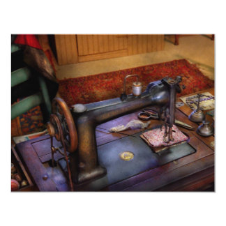 Sewing Machine - Sewing Project Invitation