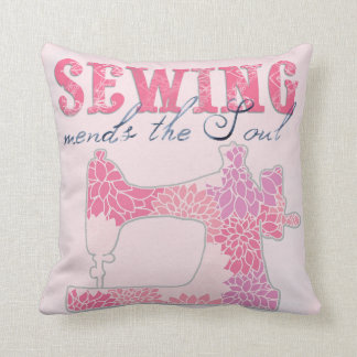 Sewing Mends the Soul Cushion