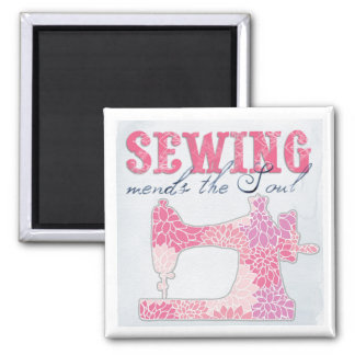 Sewing Mends the Soul Magnet
