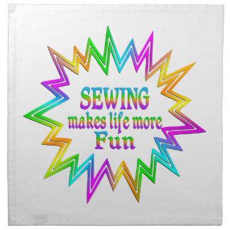 Sewing More Fun Napkin