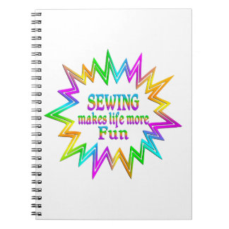 Sewing More Fun Notebook