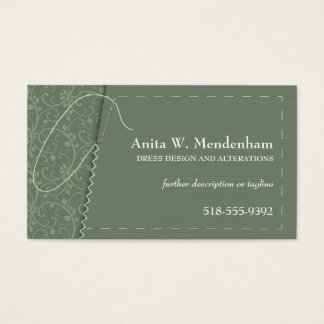 Sewing Needle Business Card