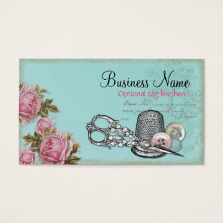 Sewing Notions Business Card