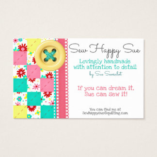 Sewing/Quilting Business Card