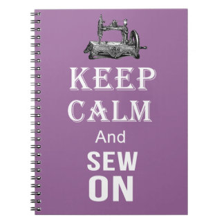 Sewing quote note book