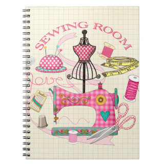 Sewing Room - Sewing Journal/Note book