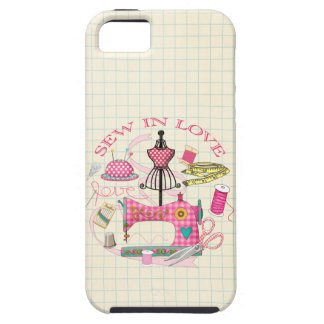 Sewing - Sew In Love iPhone 5 Cover