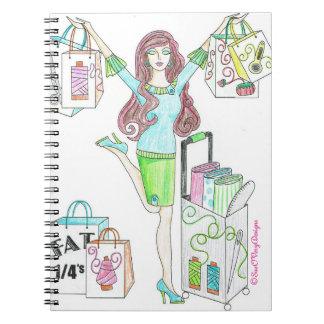 Sewing Shopper Note book