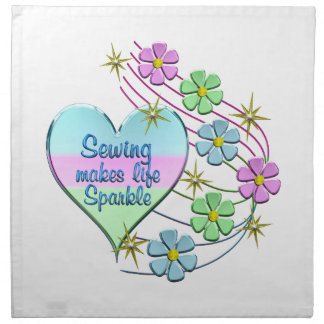 Sewing Sparkles Napkin