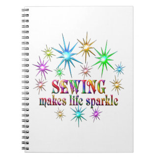 Sewing Sparkles Notebooks